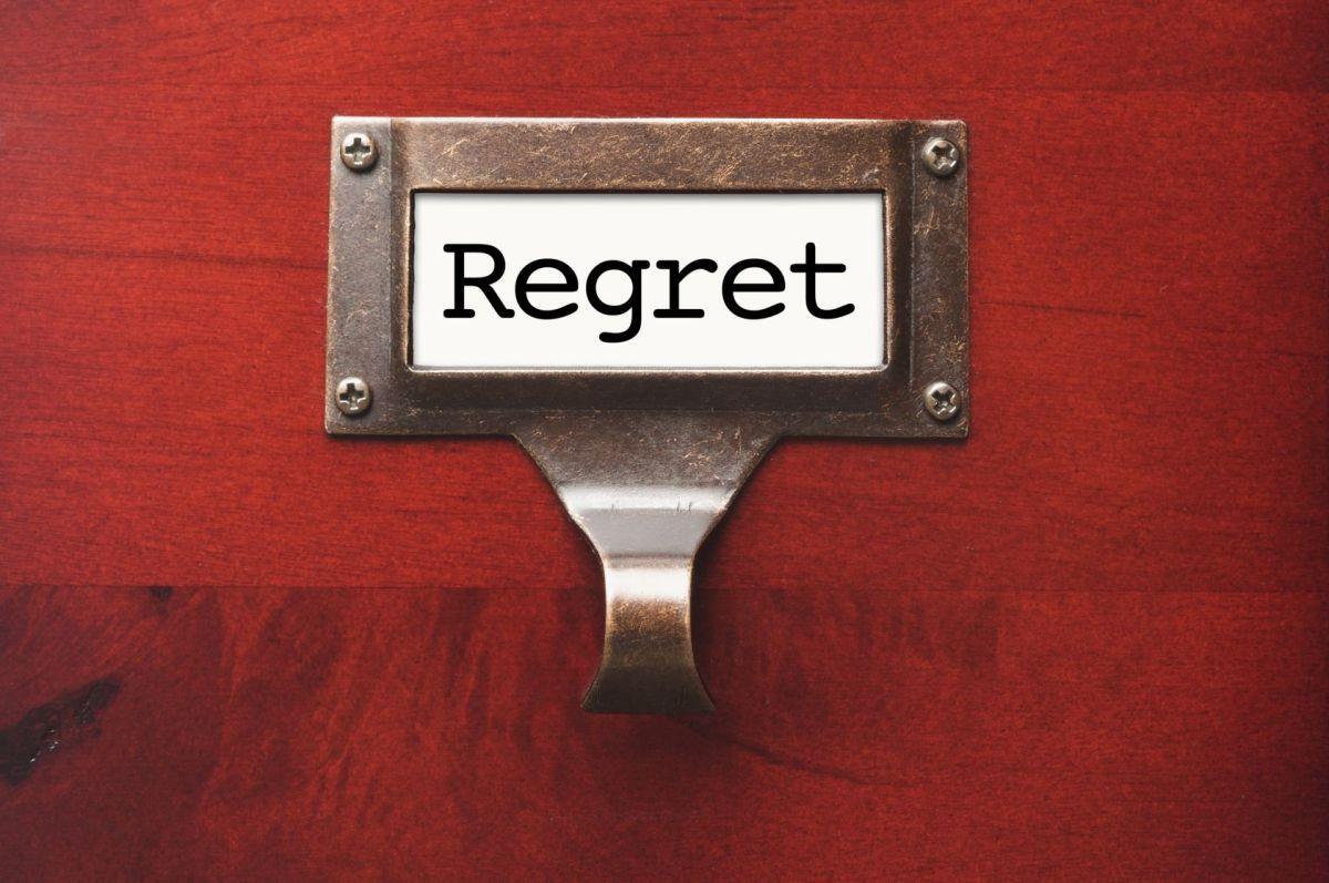 The Upside of Regret
