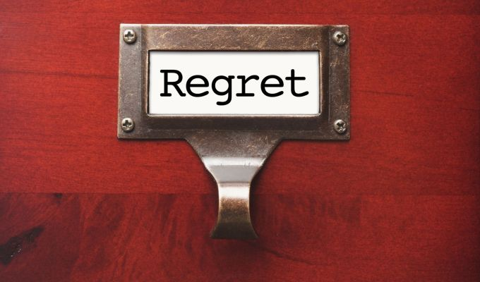 The Upside of Regret