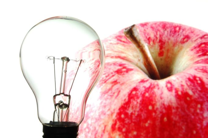 AppleLightBulb